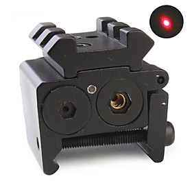 Compact Tactical Red Laser Gun Sight (Dual Weaver Rail Mount / Under Mount)