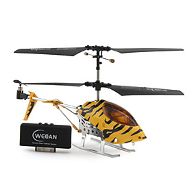 3 Channel helicopter with Gyro i-helicopter i322 Controlled by iPhone/iPad/iPod iTouch (Yellow Black