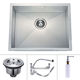 22 inch Undermount Stainless Steel Kitchen Sink (Single Bowl)