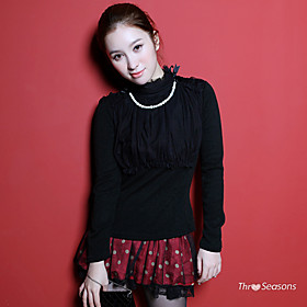 TS Chiffon Jewel Embellished Blouse Top