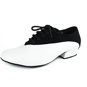 Real Leather/ Velvet Upper Dance Shoes Ballroom Latin Shoes for Men