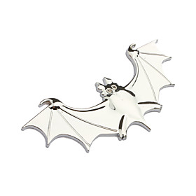 Bat Car Sticker (Sliver)