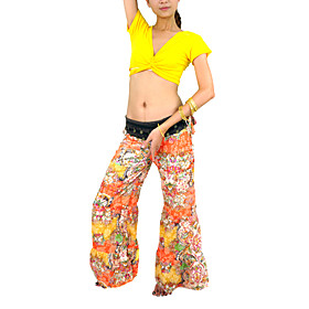 Dancewear Mercerized Cotton Practice Belly Tops for Ladies More Colors