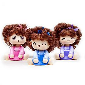 Car Accessories Ornaments Moss Doll
