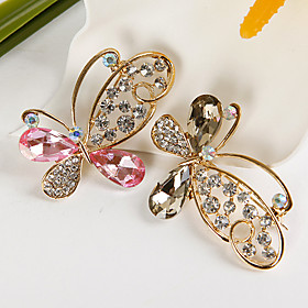 Elegant Butterfly Brooch (set of 4)