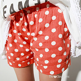 TS Dot Colorful Casual Short Pants
