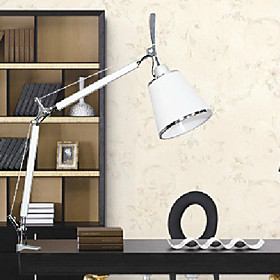 Modern Table Light with Adjustable Clamp
