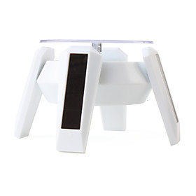 Environment-friendly Solar Display Stand (White)