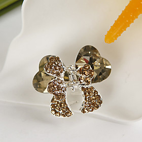 Gold Butterfly Hair Clip (set of 4)