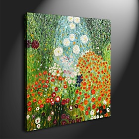 Hand-painted Oil Painting by Gustav Klimt with Stretched Frame