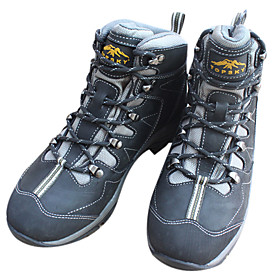 New Nubuck High-top Waterproof Quake-proof Breathable Mountain Shoes Hiking Climbing Shoes