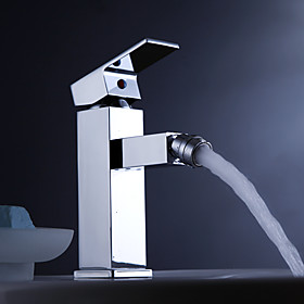 Contemporary Brass Bidet Faucet - Chrome Finish