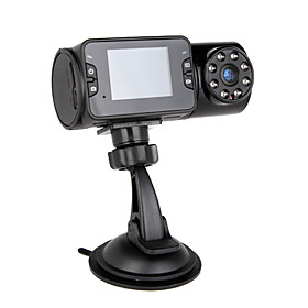 Night Vision 720P HD Car DVR with 2 Inch LCD Display (Free 4GB)