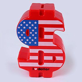 New Stealing money Currency symbol piggy bank money box