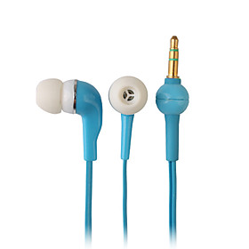 Elegant High-quality Earphones, 1.2m Cord, 3.5mm (Blue)