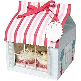Little House Cake Box (set of 12)