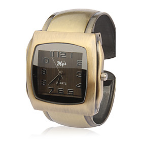 Stylish Bracelet Band Wrist Watch - Green Bronzen