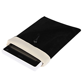 Protective Soft Cloth Pouch Case for 7 Inch Tablet (Black)