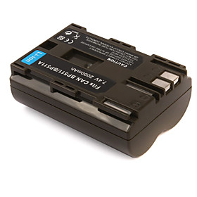 2000mAh 7.4V Digital Camera Battery BP-511/511A for CANON G-1 MV-300 and More