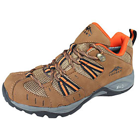 New Nubuck Water Repellent Quake-proof Breathable Mountaineering Hiking Climbing Shoes