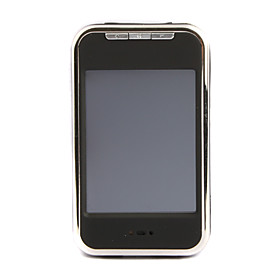 1GB Touch Screen LCD MP4 Player with FM   1.3M Pixel Camera   N608 (Black)