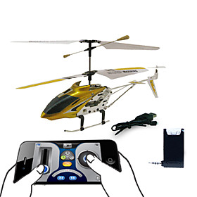 3 Channel i-Helicopter with Gyro Controlled by iPhone/iPad/iPod iTouch (Yellow)