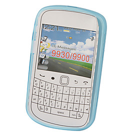 Protective TPU Translucent Case for Blackberry 9900 (Blue)