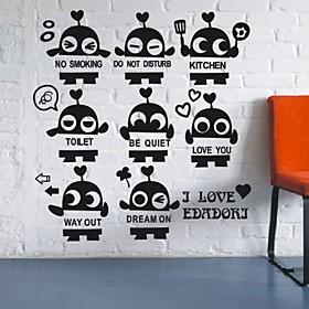 Little Robots Set Wall Stickers (1985-P31)
