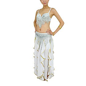 Dancewear Polyester With Beading Performance Skirt Outfit for Ladies More Colors