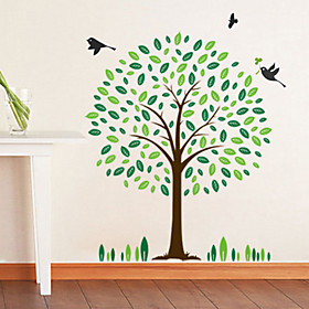 Green Tree Wall Stickers (1985-P1)
