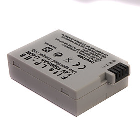 1500mAh 7.4V Digital Camera Battery LP-E8 for CANON EOS 550D and More