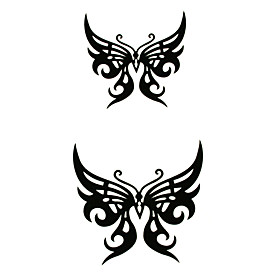 5 Pcs  Butterfly Waterproof Temporary Tattoo(12m 6cm)