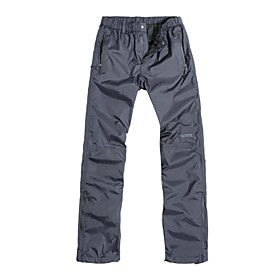 AGLEROC - Triple Layer Waterproof Breathable Warm Mens Ski Pant with Zipper Pocket