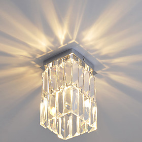 Modern Crystal Flush Mount