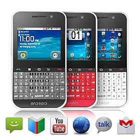 Tango - QWERTY Android 2.3 Touchscreen Smartphone (GPS, Dual SIM, Wifi)