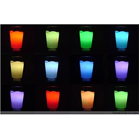 Color-changing Milk Cup Plastic LED Night Light