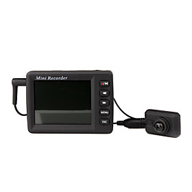 Portable DVR with Pinhole Camera and Sony CCD Sensor