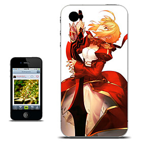 Fate stay night Saber Elegant Version Anime Case for iPhone 4/4s