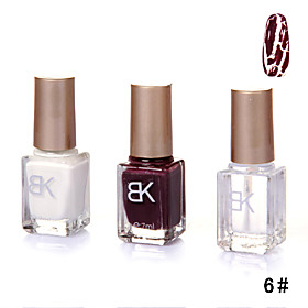 Shatter Crackle Cracked Style Nail Polish Set A 8#