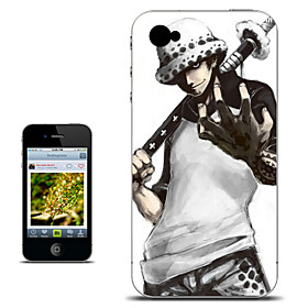 One Piece Trafalgar·Law Anime Case for iPhone 4/4s