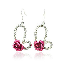 Lovely Heart-shaped Earring