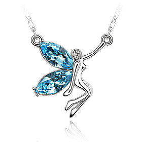 Crystal Butterfly Elf Necklace