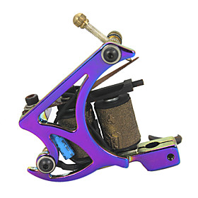 Hand-assembled Cast Iron Tattoo Machine Liner and Shader with Beautiful Finish