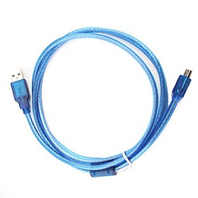1.2M USB 5-pin Cable (Blue)