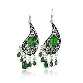 Antique Silver-plated Vagarious Earring