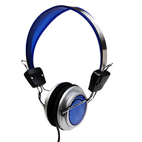 3.5mm Stereo Blue Diamond Fashion Headphone