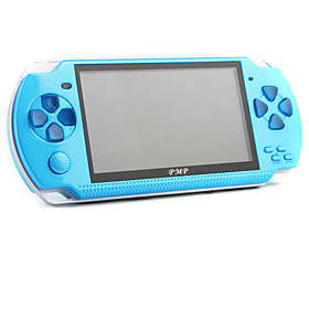 PMP 2GB TFT Portable Games Console with 2500 Games  TV Output (Blue)