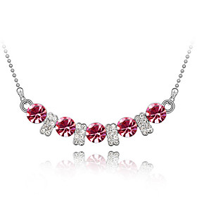 17% off Crystal Language of Love Necklace