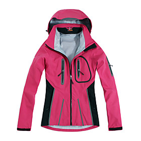 Wolfhound - Womens Triple Layer Waterproof Breathable Hooded Ski Jacket