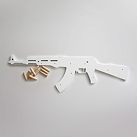 AK47 Shaped Pothook Hanger